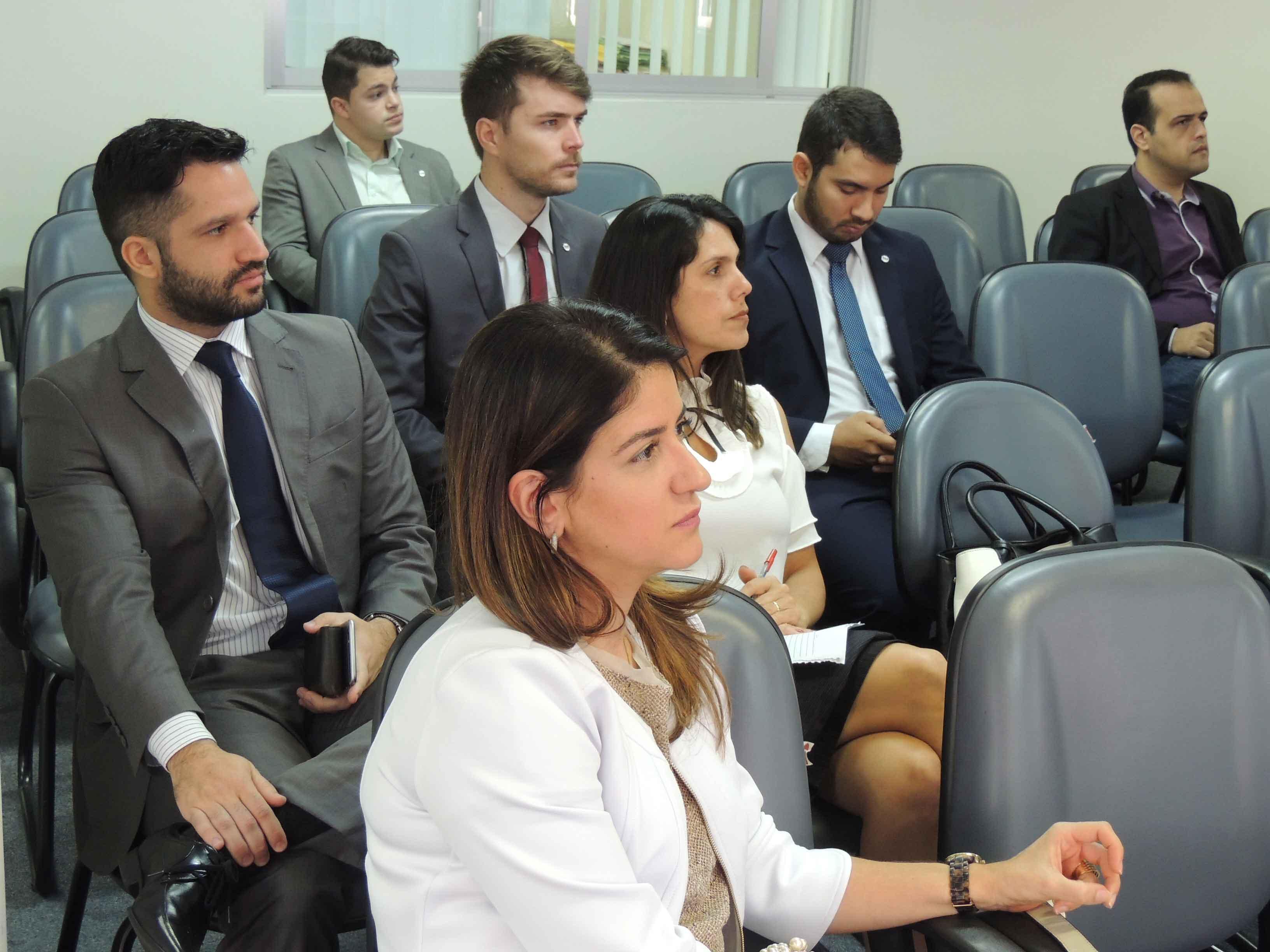 Advocacia acompanha debate na OAB-ES. Foto: Divulgação.