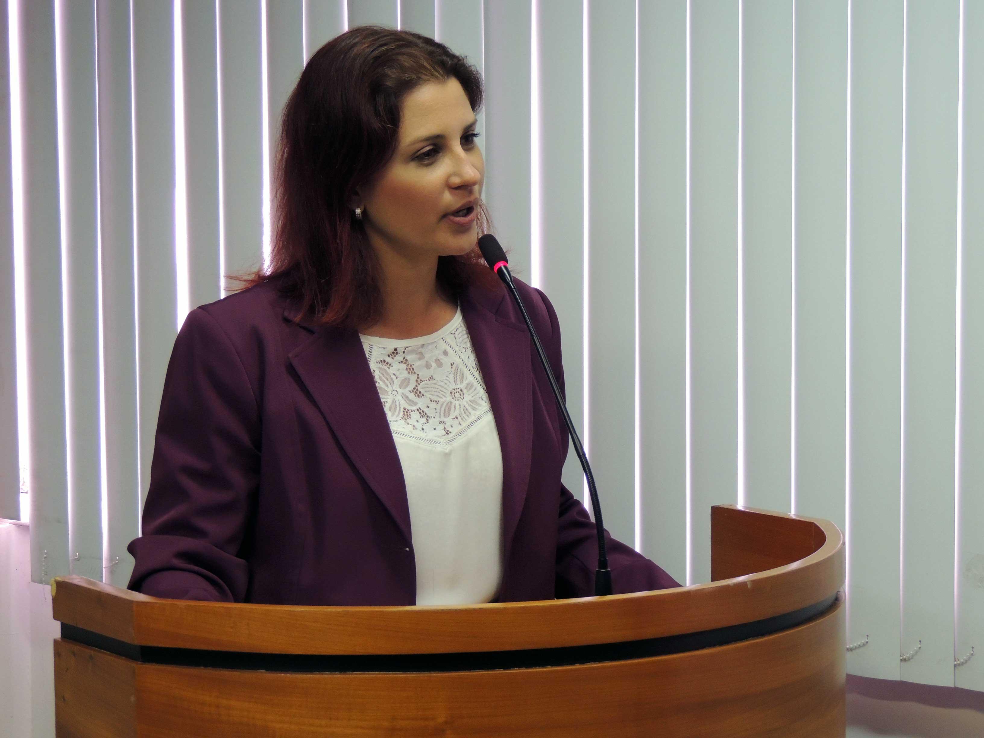 Mayra Regetz Monteiro é vice-presidente da Comissão de Estágio