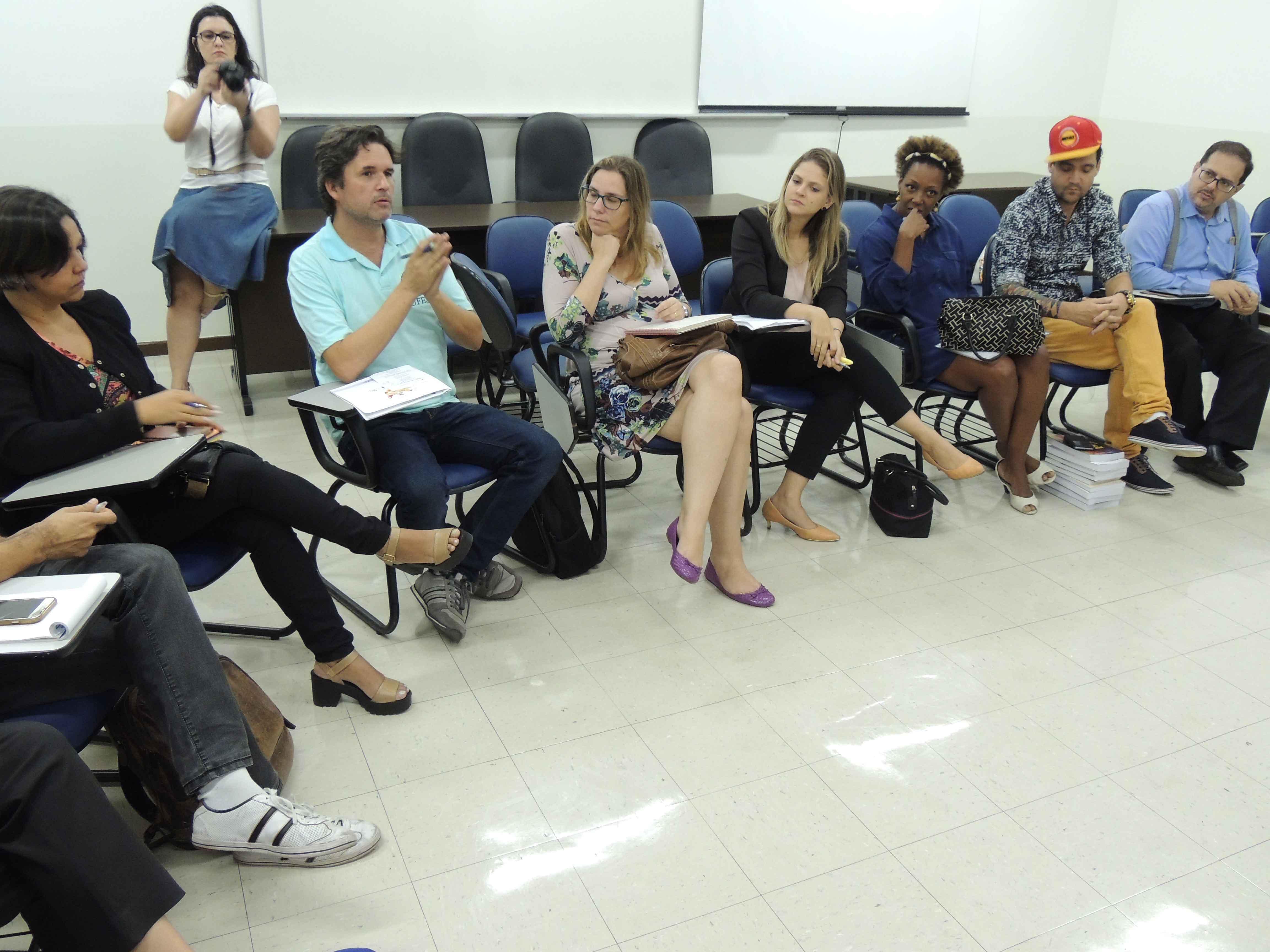 Advogados reunidos na FDV. Foto: Divulgação.