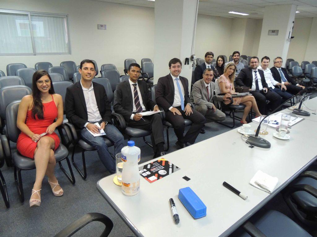 Em reunião, Comissão de Direito Tributário da OAB-ES traçou planejamento. Foto: Divulgação.