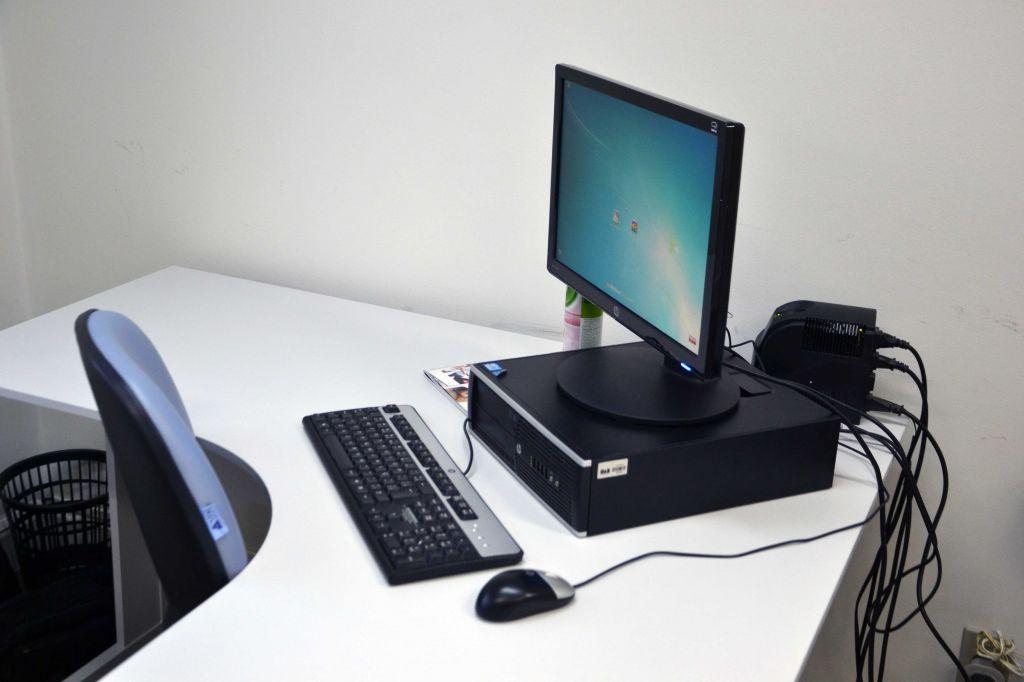 Computador que será utilizado pela advocacia. Foto: Divulgação.