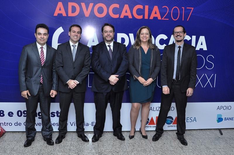 Semana da Advocacia 2017 reuniu grandes juristas. Foto: Divulgação.