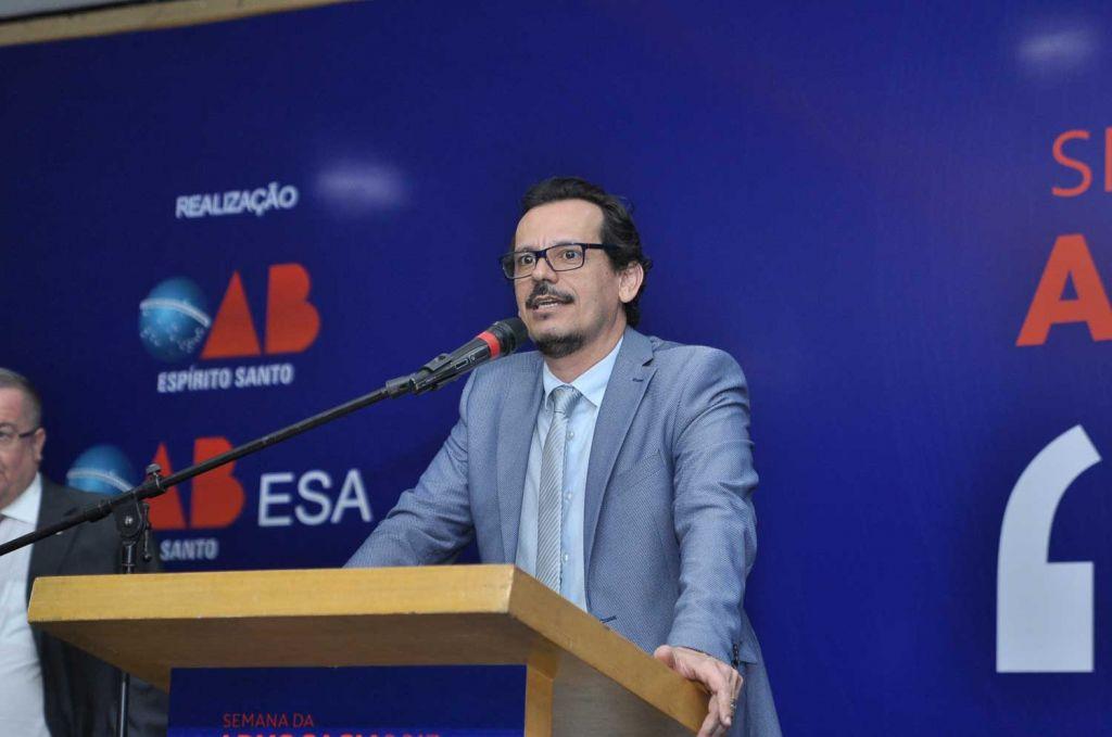 Rodrigo Mazzei, diretor da ESA/OAB-ES. Foto: Divulgação.