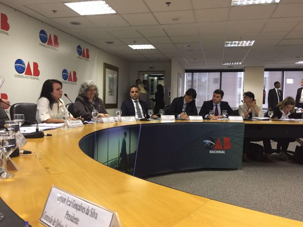 Conselheiro Seccional e presidente da Comissão de Direito do Consumidor, Cássio Drumond representou a Ordem. Foto: Divulgação CFOAB.