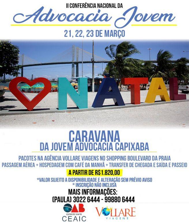 Participe da Caravana da CEAIC. Foto: Divulgação.